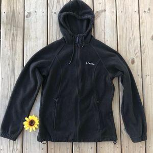 Columbia Fleece Zip Up with Hood